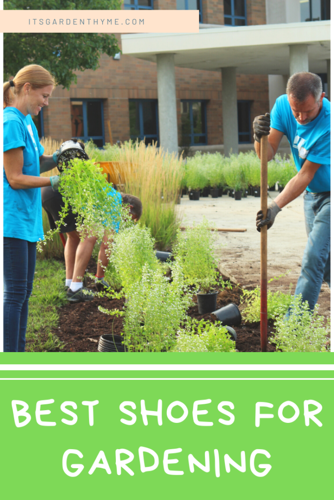 BEST SHOES TO WEAR IN THE GARDEN FOR WOMEN AND MEN AND KIDS