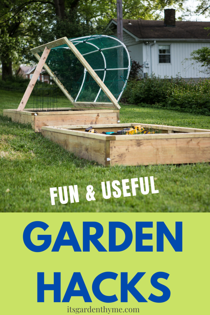 Fun & Useful Garden Hacks and DIY