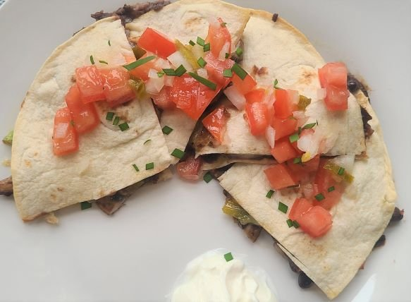 Black bean quesadilla recipe